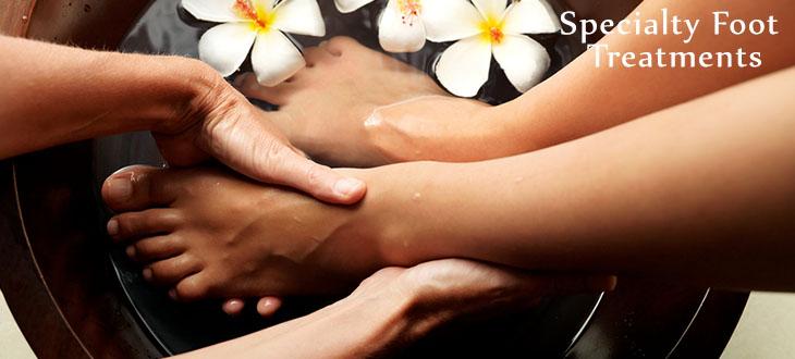 Specialty Foot Treatments - Jivana Green Spa & Salon